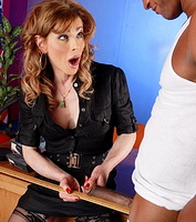 Naughty studen receives dick. Naughty student gets banged by Jasmien Jewels