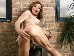 At home with jasmine. Mature Jasmine toying her butt and masturbating