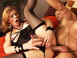 Have intercourse by the boss. Excited TMILF Jasmine Jewels gets make love by the boss