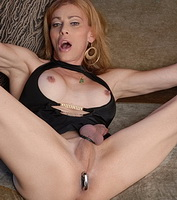 Magic toy. Filthy TMILF playing with her magic toy