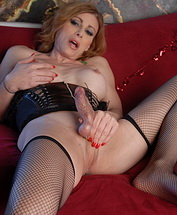 Good valentine Hot TS MILF Jasmine Jewels posing her juicy fat penis.