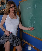 Libidinous teacher. Shemale teacher in need some cock