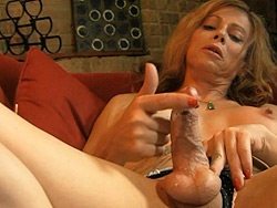 Jasmine and ashley george. Lascivious TS Jasmine Jewels playing with her massive cock