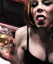Piss and dirty talk. Filthy Jasmine strokes and pees
