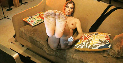 Stockings  ass and feet. Seductive TMILF Jasmine posing her amazing feet